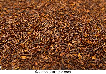 Rooibos tea - Fermented Rooibos or redbush tea leaves...