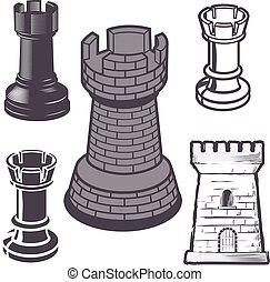 rook, chess stykke