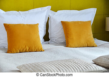 room., ダブル, ホテル, 調停, ベッド