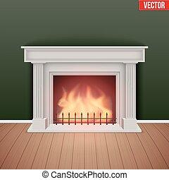 room., 家, 暖炉, 保温カバー