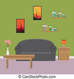 room., 生活