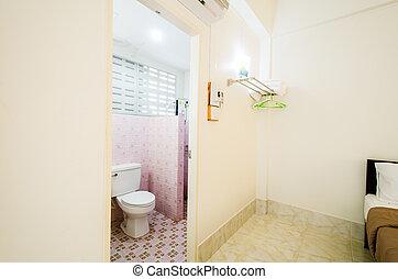 room., 화장실, 아파트, 샤워