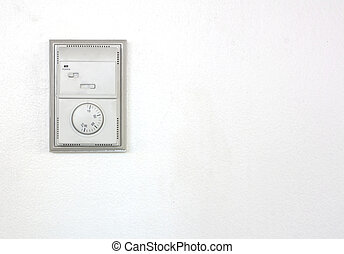 Room air conditioner thermostat.