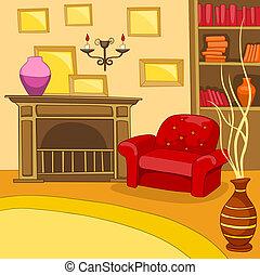Room Cartoon.