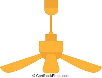 Room fan vector illustration.