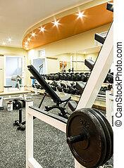 room., gymnase, fitness