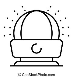 Room humidifier icon, outline style