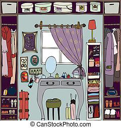room., illustration