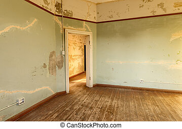 Room in a deserted building, Namibia