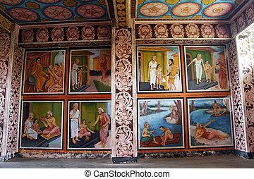 Room in monastery