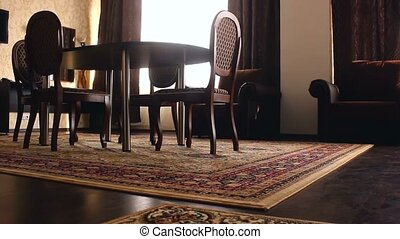 room Interior chair with chairs and carpets beautiful luxury...