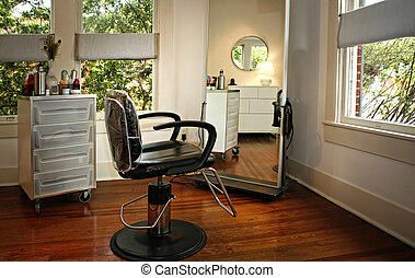 Room Interior in modern beauty salon