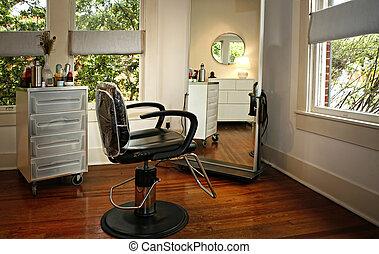 beauty salon - Room Interior in modern beauty salon