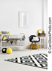 Room perfect for a little toddler