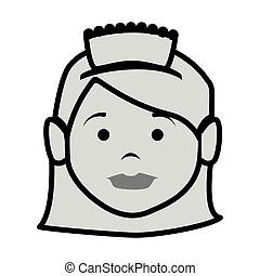 room service character hotel service vector illustration ...