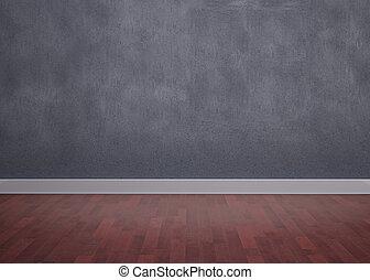Room with wooden floor