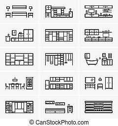 Set of rooms