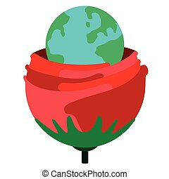 roos, globe
