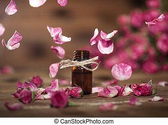 roos, olie, essentieel