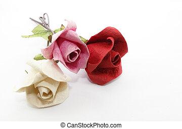 roos, papier