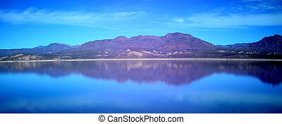 Roosevelt Lake Central Arizona Panorama - Panorama Mountain ...