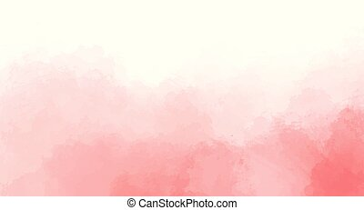 rooskleurige achtergrond, concept, ontwerp, watercolor, vector., jouw