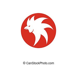 Rooster vector icon