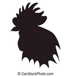 roosterheadblack