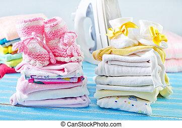 ropas del bebé