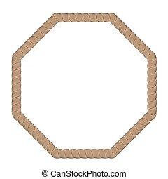 Rope Creative Frame