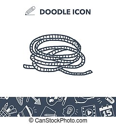 Rope doodle