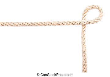 Rope frame knot