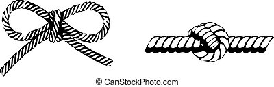 rope icon on white background