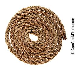 rope isolated on white background
