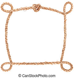 rope knot frame