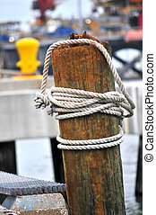 Rope on boat from 1888