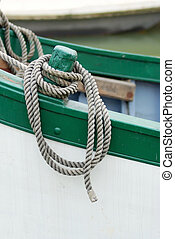 rope on boat