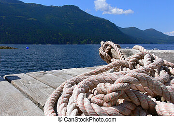 Rope on Dock
