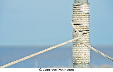 Rope on pole