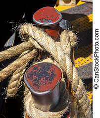 Rope on Red Cleat