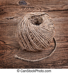 rope on the old board
