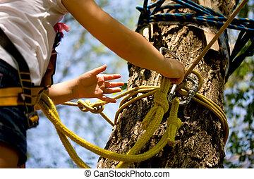 Rope Park Girl