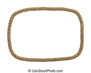 Rope Rectangle Frame