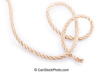 rope - Rope Isolated on white background