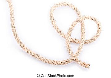 rope - Rope Isolated on white background