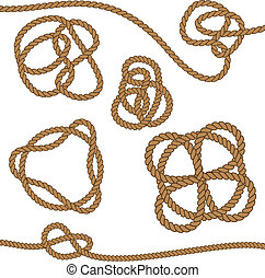 Rope with celtic knot.