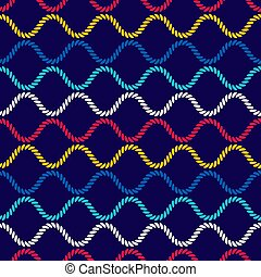 ropes., πρότυπο , motion., seamless, κυματιστός , βελονιάζω , forms., καμπύλος , οφθαλμαπάτη