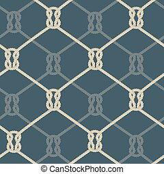 Ropes background blue