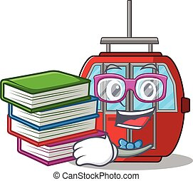 ropeway, 吉祥人, 学习, 卡通漫画, 书