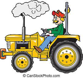 rops, traktor